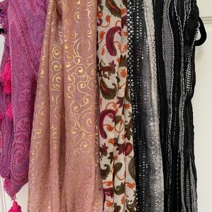 Charming Charlie Accessories - Infinity Scarf Bundle